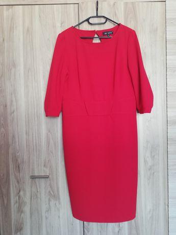 Czerwona sukienka rozmiar 44