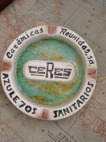 Cinzeiro vintage Ceres.