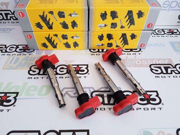 Bobines Ignição Reforçadas Audi R8 NGK VW VAG 1.8TFSi 2.0TFSi 2.0FSI