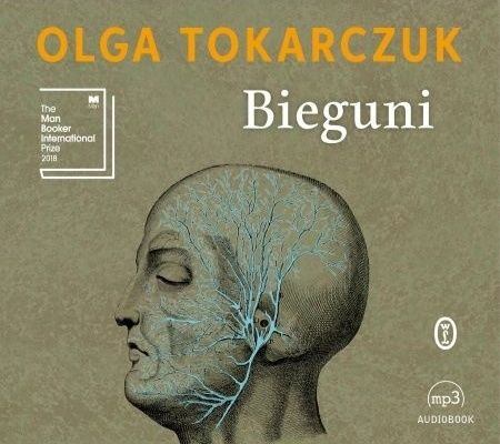 Bieguni Audiobook CD MP3, Tokarczuk, raz słuchany.