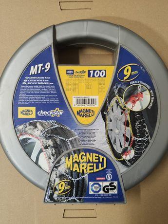 """Łańcuchy śniegowe Magnet Marelli 14"""" 15"""" 16"""" 17"""" 18"""" 19"""""""