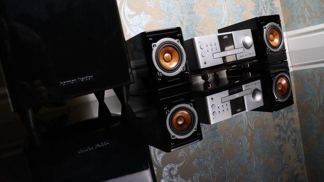 Hi-Fi аудиосистема JVC EX Series Wood Cone Kenwood Technics Onkyo SONY