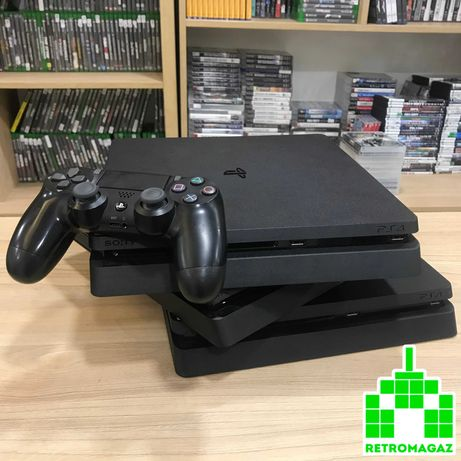 PS4 БУ Slim 500GB 1TB Black Приставка Игры Геймпад Sony Playstation VR