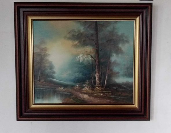 Obraz olejny na płótnie 80 cm x 70 cm