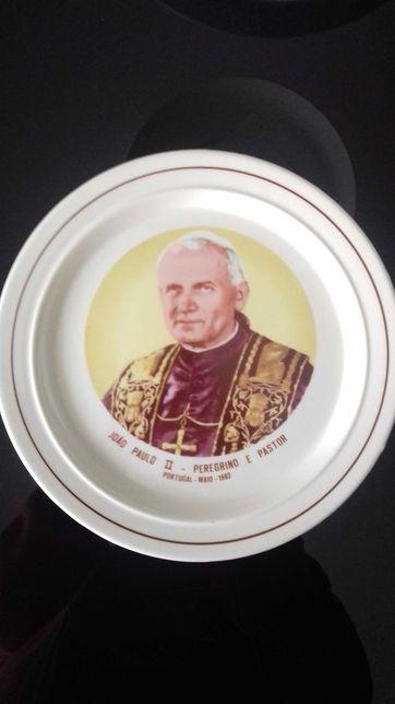 Prato Papa João Paulo II 1982
