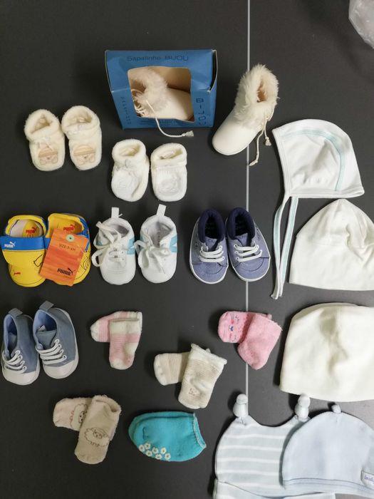Sapatos e pantufas bebé Setúbal - imagem 1