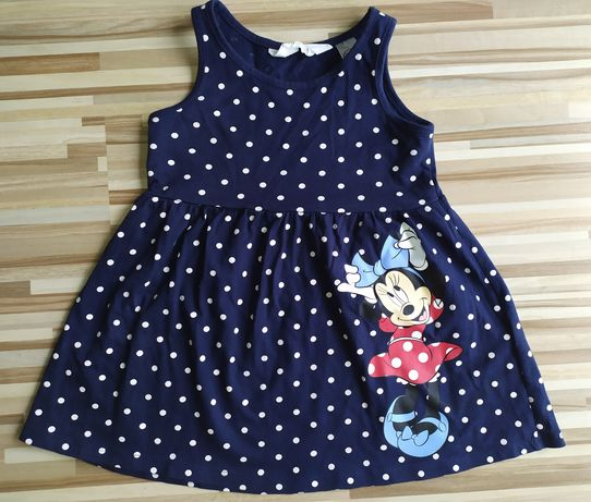 Sukienka Myszka Minnie Disney H&M r. 92