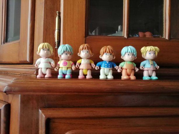 Seis Bonecos Pinipon
