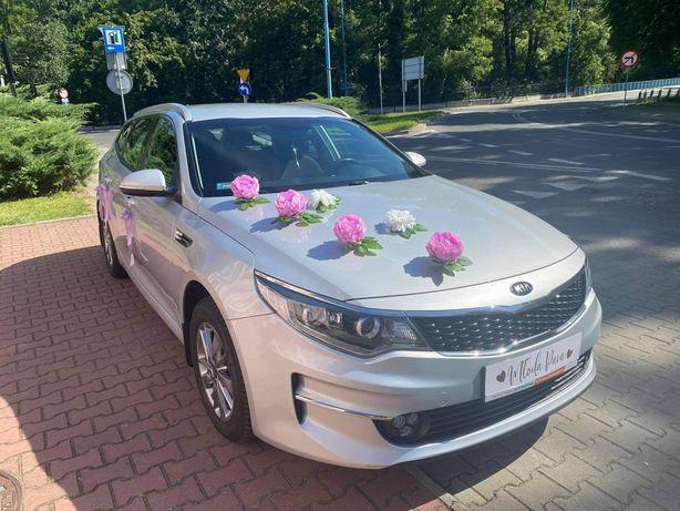 Auto do ślubu Kia Optima