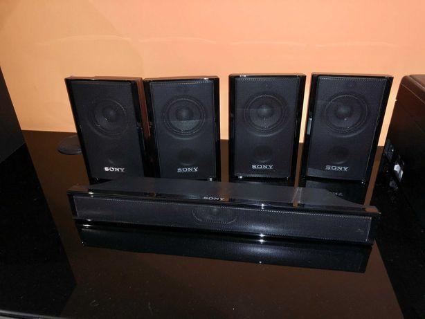 kit home cinema surround sony 5.1 + blu-ray