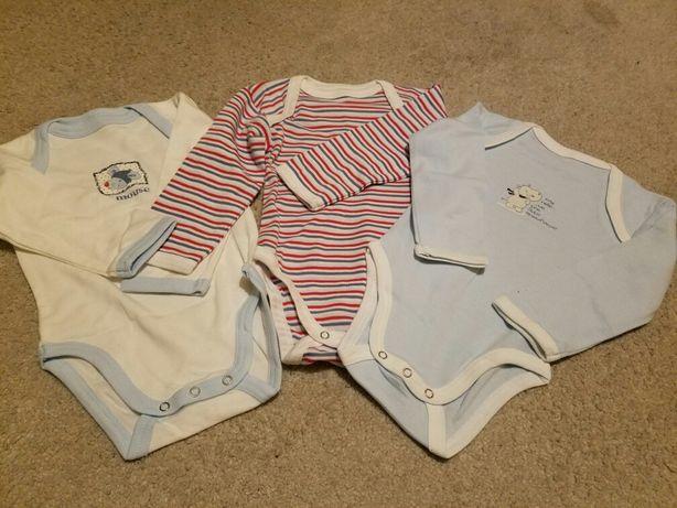 Nowe ubranka dla niemowlaka