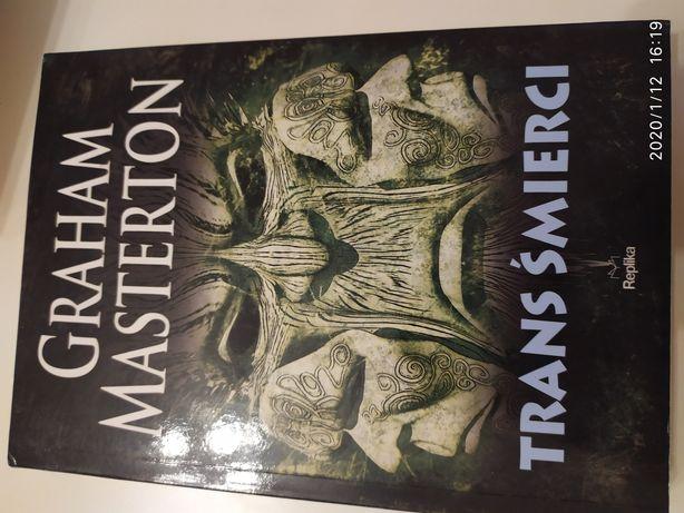 Książka, Trans Śmierci, Graham Masterton, nowa [ thriller-kryminał ]