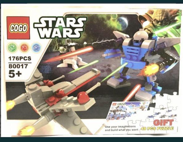 Star Wars Klocki Lego Styl Robot statek Powietrzny+ puzzle gratis