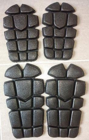 Wkłady ochraniacze kolan i łokci do munduru