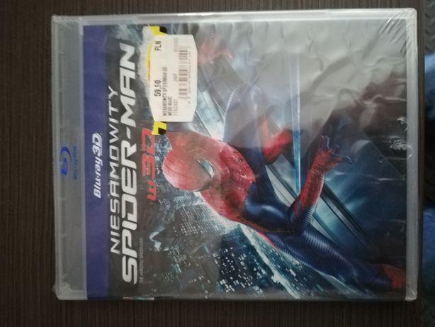 Niesamowity Spiderman 1 i 2 3D DWIE CZESCI