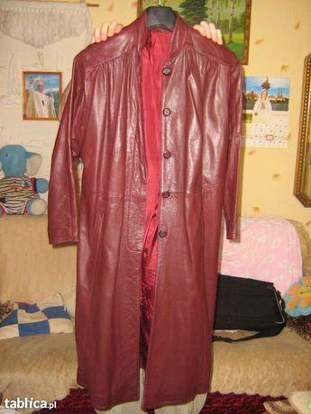 """Płaszcz skórzany brązowy a la """"Matrix"""""""