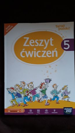 Teraz polski! Klasa 5 - zeszyt ćwiczeń