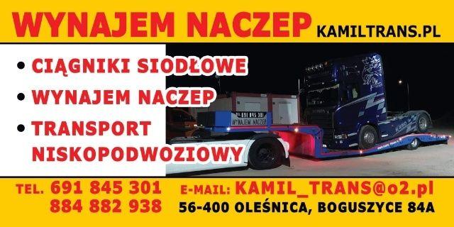 Wynajem Naczepy Wrocław