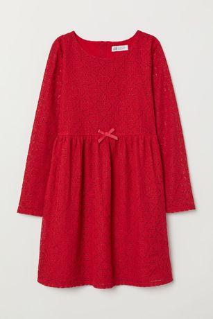 Кружевное платье фирмы НМ