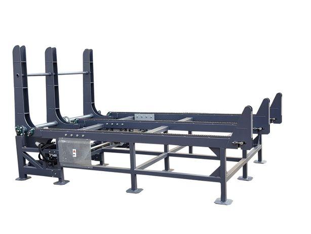 podajnik zasobnik rampa załadowcza kłody drewna trak taśmowy nowy CE