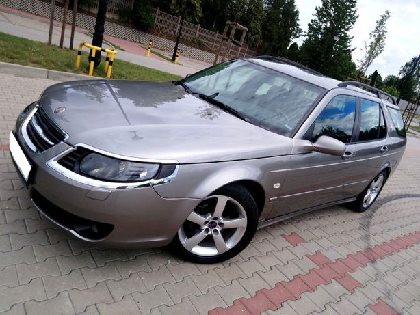 Saab 9-5 Vector Lift 2,0Turbo//manual //Skóry// SERWIS//Zamiana***