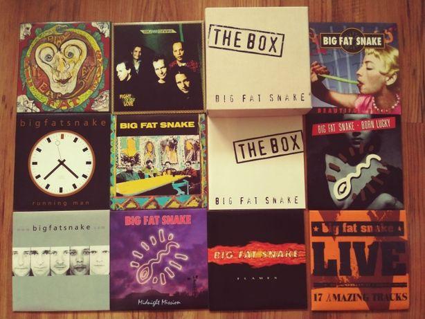 Big Fat Snake – The Box , 10 CD - super stan , rock , 2005 rok