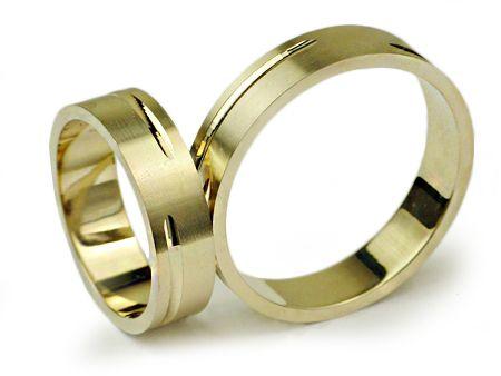 Złote Obrączki 585 I022 Jubiler Goldrun CHORZÓW