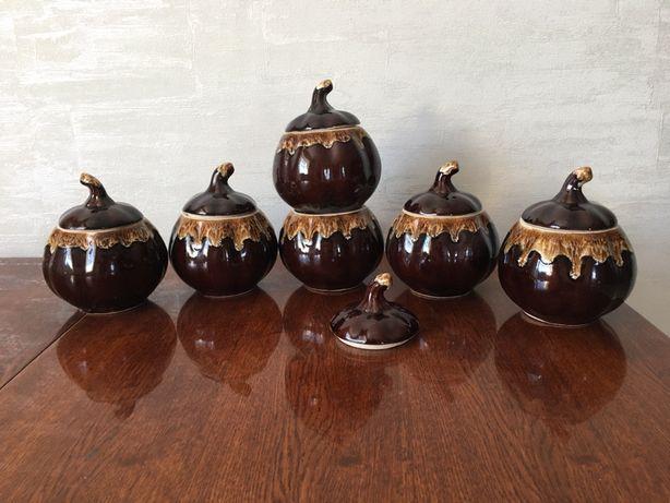 Набор керамических горшочков