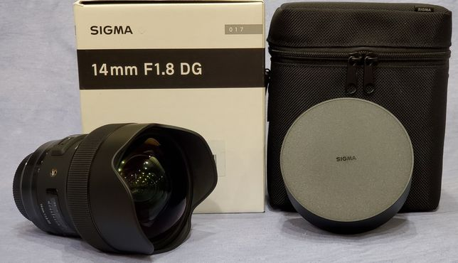 Объектив Sigma AF 14mm f/1.8 DG HSM ART (Canon)