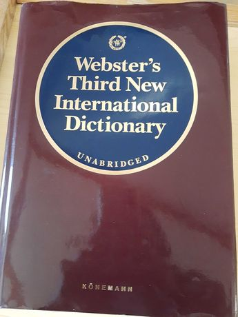 Webster's Dictionary słownik angielskiego