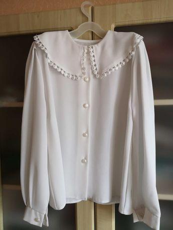 Блузка для девочки школьная форма