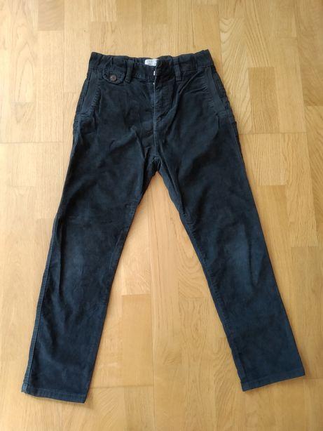 ZARA вельветовые брюки 7-8