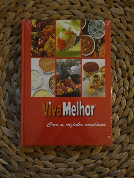 """Livro """"Viva Melhor com a cozinha saudável"""". Novo"""