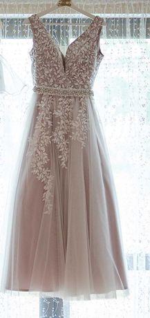 Suknia ślubna ivory/beż