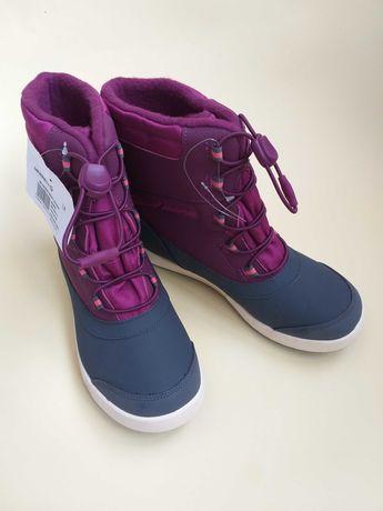 Зимние непромокаемые ботинки на девочку Merrell  37,5рр