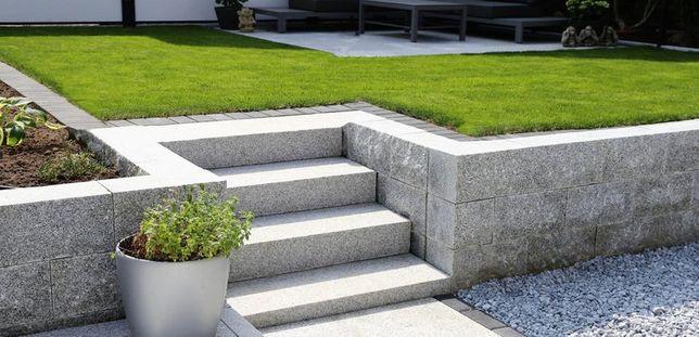 Stopień granitowy Kamień Taras Ogród Schody Granit 150x33x2 cm HIT!!