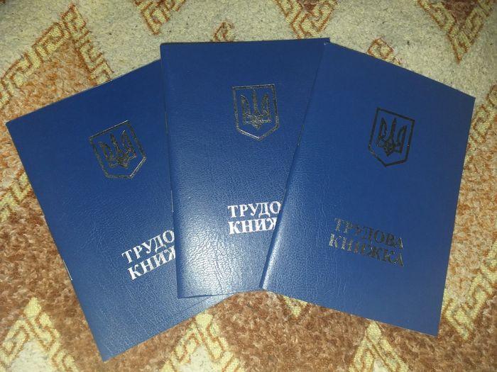 Трудовая Книжка (самовывоз с 8.00- 22.00) Академика Туполева 17-Г Киев - изображение 1