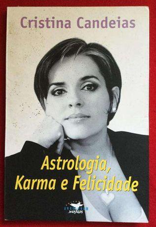 Astrologia Karma e Felicidade - Cristina Candeias editorial Novalis