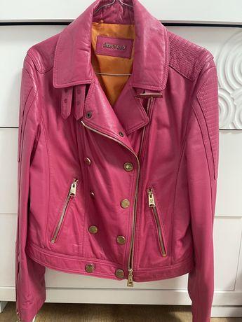 Продам брендовую новую кожаную куртку курточку