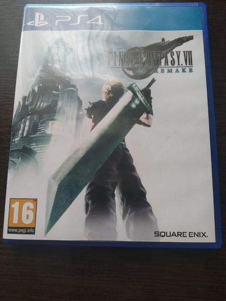 Final Fantasy VII Remake диск PS4