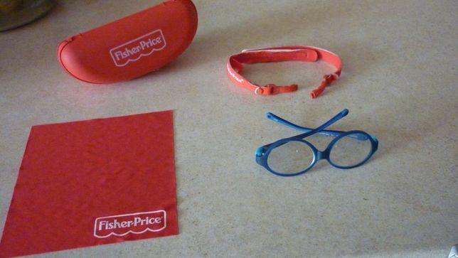 Okulary dziecięce Fisher price +3