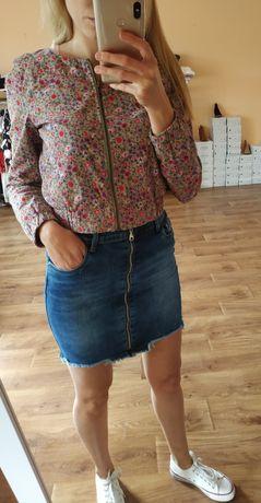 Jeansowe spódniczki wyprzedaż. Różne rozmiary