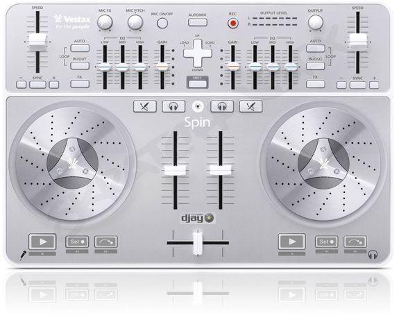 Dj controller, dj контроллер Vestax Spin
