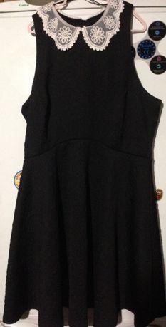 Новое нарядное платье, воротник с жемчугом, размер 12 или 48 наш