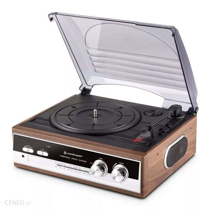 Gramofon soundmaster pl186h wood Ostrów Wielkopolski - image 1
