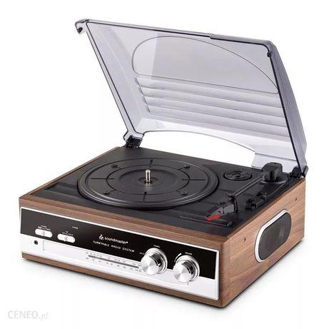 Gramofon soundmaster pl186h wood