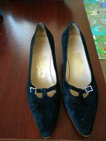 Туфлі жіночі з натуральної замші