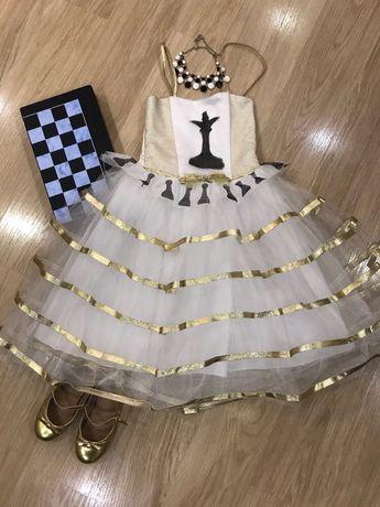 Платье шахматной королевы) новогодний костюм шахматной королевы)
