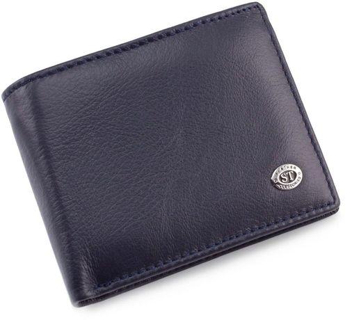 Мужской кошелек из натуральной кожи с зажимом ST Leather