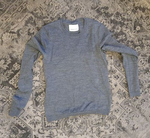 Sweter SAMSOE SAMSOE XS , wełniany, 100% wełna merino